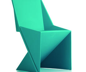 Freedom Visitor Stacking Chair Green Polypropylene
