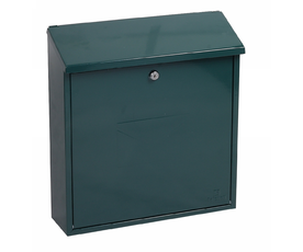 Phoenix Casa MB0111KG Top Loading Mail Box in Green with Key Lock