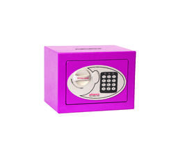 Phoenix Compact Home Office SS0721E Pink Security Safe with Electronic Lock & Deposit Slot