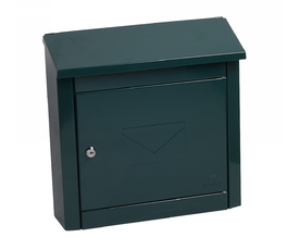 Phoenix Moda MB0113KG Top Loading Mail Box in Green with Key Lock